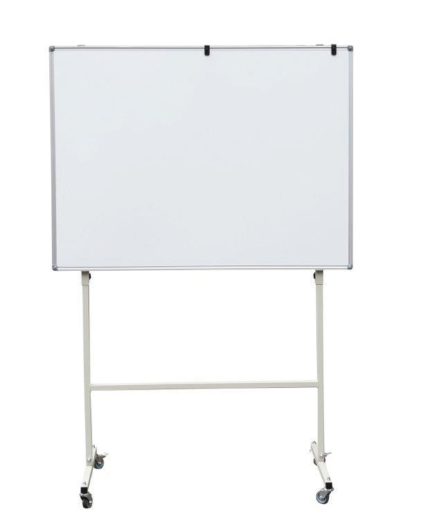 Tablica magnetyczna suchościeralna na stojaku