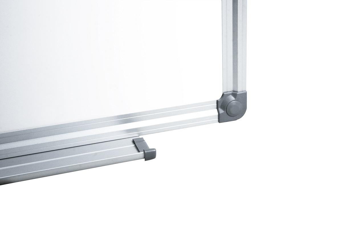 Tablica suchościeralna magnetyczna biała w aluminiowej ramie