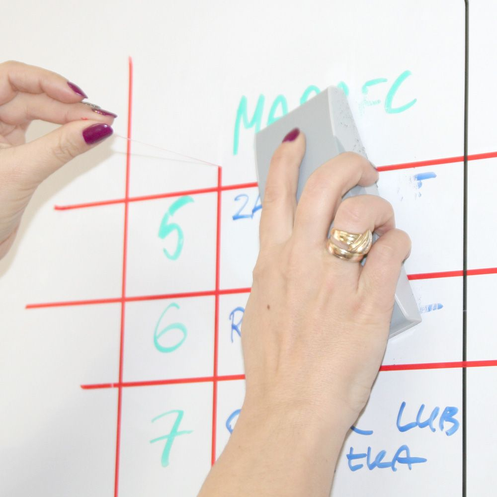 Samoprzylepna taśma do tablic do planowania