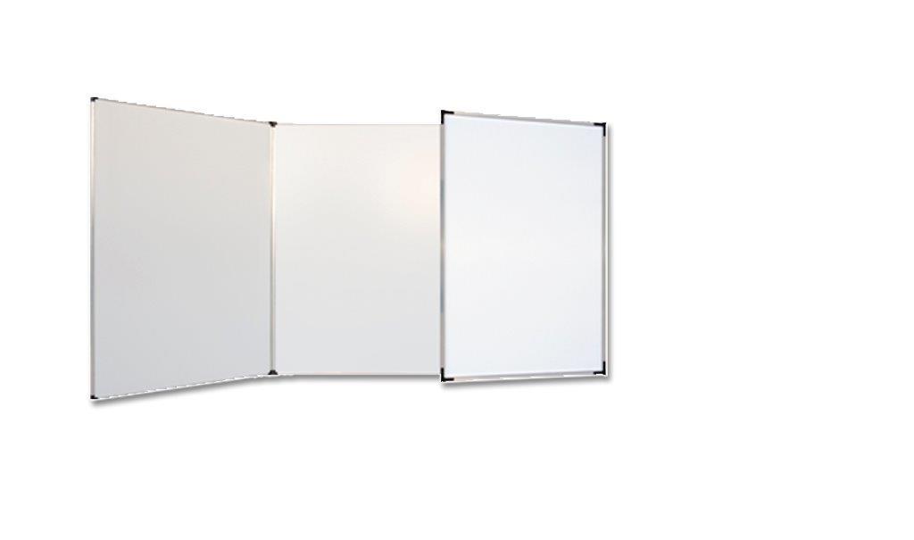Trzyczęściowa tablica suchościeralna magnetyczna (tryptyk)